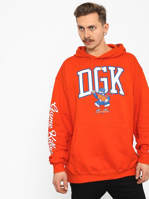 Bluza z kapturem DGK Game Killers HD (orange)