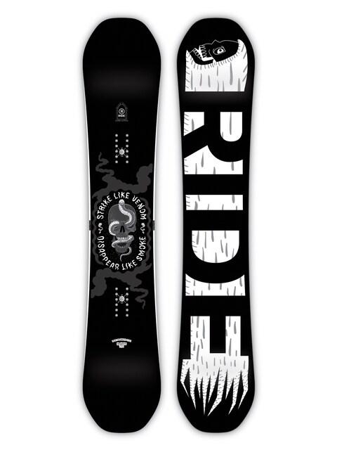 Deska snowboardowa Ride Machete (white/black)