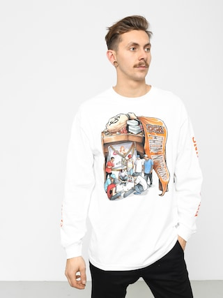 Longsleeve DGK Hard Knocks (white)