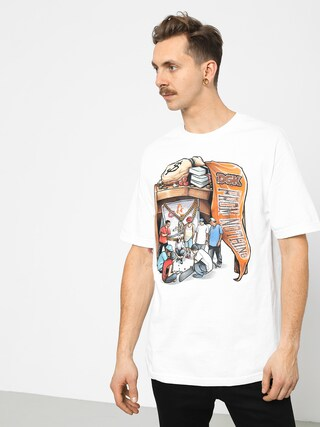 T-shirt DGK Hard Knocks (white)