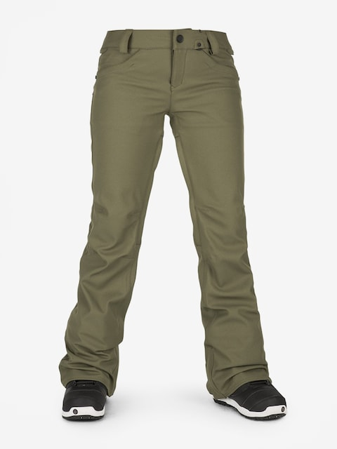 Spodnie snowboardowe Volcom Species Stretch Wmn (mil)