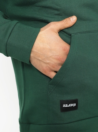 Bluza z kapturem Majors Saute HD (green)