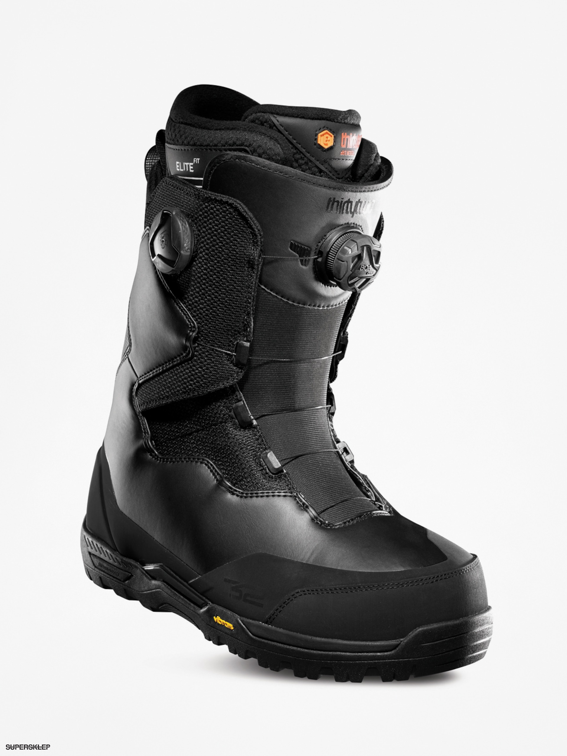 Męskie Buty snowboardowe ThirtyTwo Focus Boa (black)