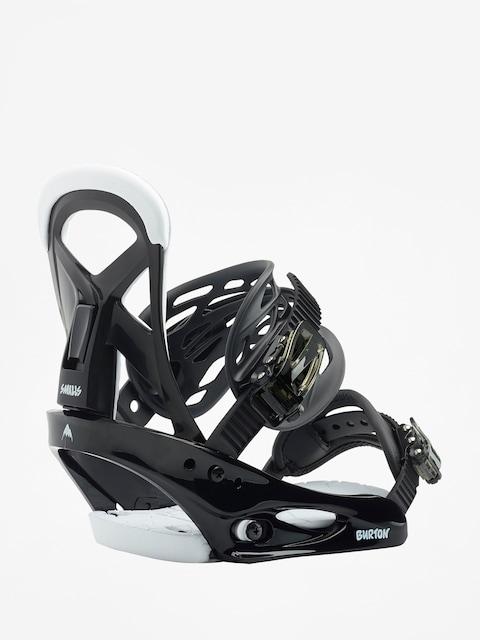 Wiązania snowboardowe Burton Smalls (black)