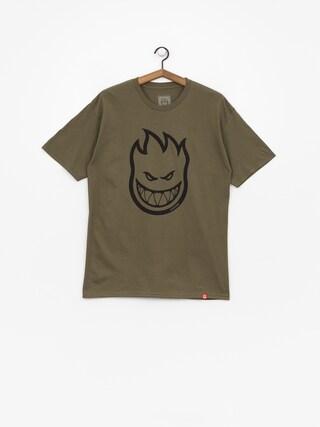 T-shirt Spitfire Big Head (military green)
