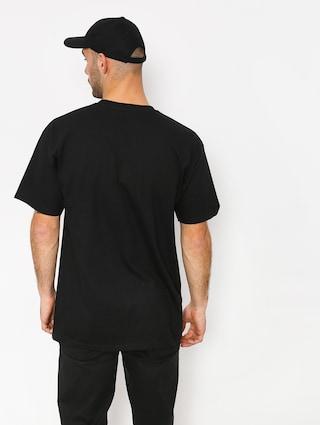 T-shirt HUF Spitfire Og Logo (black)