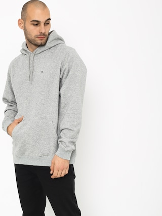 Bluza z kapturem Brixton B Shield Intl HD (heather grey)