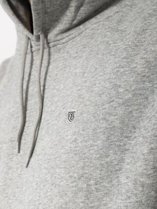 Bluza z kapturem Brixton B Shield Intl HD (heather grey)