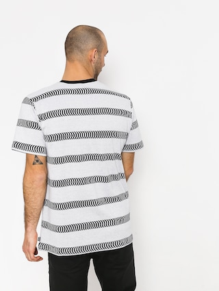 T-shirt HUF Spitfire Striped Knit (white)