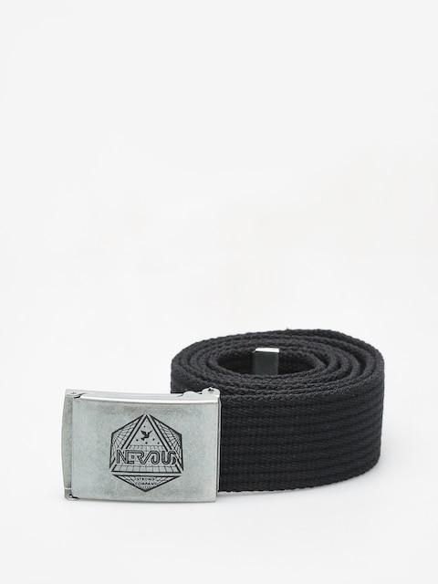 Pasek Nervous Arcade (black/silver)