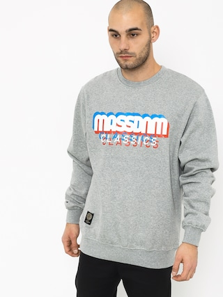 Bluza MassDnm Sacrifice (light heather grey)