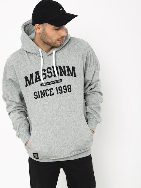 Bluza z kapturem MassDnm Campus HD (light heather grey)