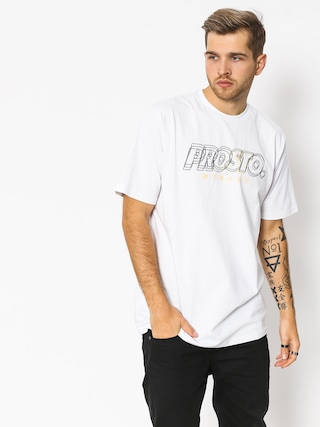 T-shirt Prosto Sqat (snow)