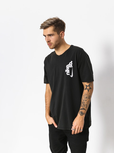 T-shirt Nike SB Sb Vertical Dye (black/white)