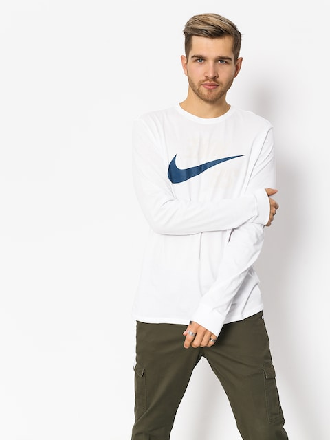Longsleeve Nike SB Sb Backwards (white/blue force)