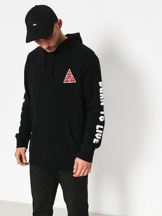 Bluza z kapturem HUF Spitfire Triangle HD (black)