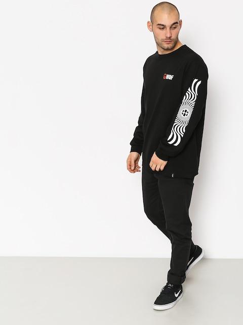 Longsleeve HUF Spitfire Swirls (black)