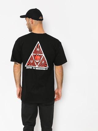 T-shirt HUF Spitfire Tt (black)