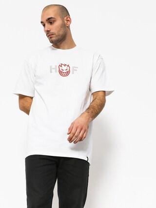 T-shirt HUF Spitfire Og Logo (white)