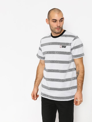 T-shirt HUF Spitfire Striped Knit (white)