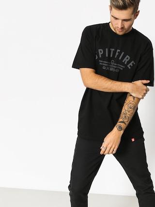T-shirt Spitfire Brn Division (black/grey)