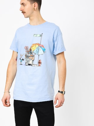 T-shirt DGK Vendor (powder blue)