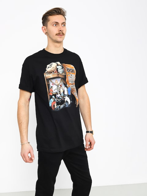 T-shirt DGK Hard Knocks (black)