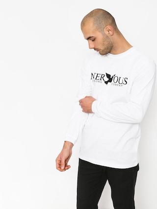 Longsleeve Nervous Classic (white)