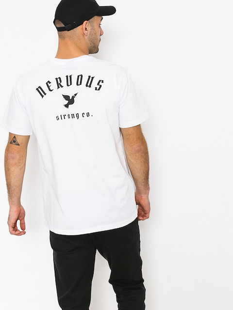 T-shirt Nervous Ltd (white)