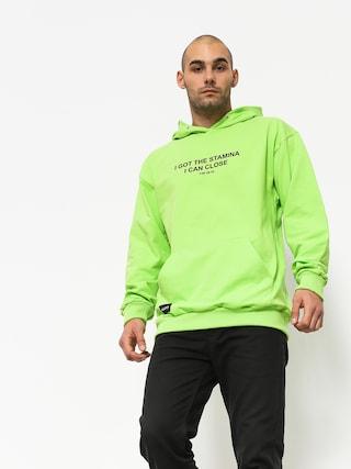 Bluza z kapturem Majors Neo HD (green)
