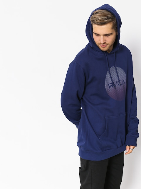 Bluza z kapturem RVCA Rvca Motors HD (blue depths)