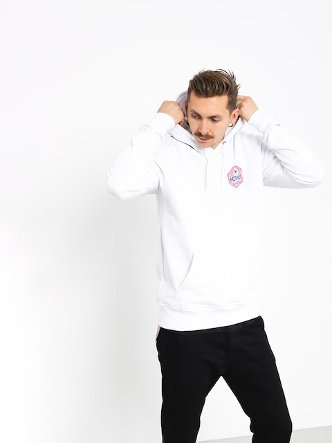 Bluza z kapturem Nervous Arcade HD (white)