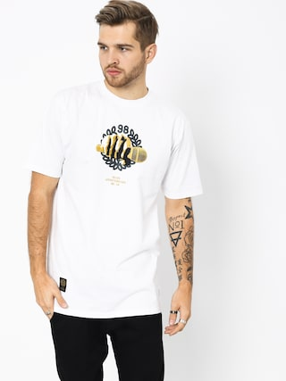 T-shirt MassDnm Golden Mic (white)