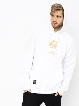 Bluza z kapturem MassDnm Golden Crown HD (white)