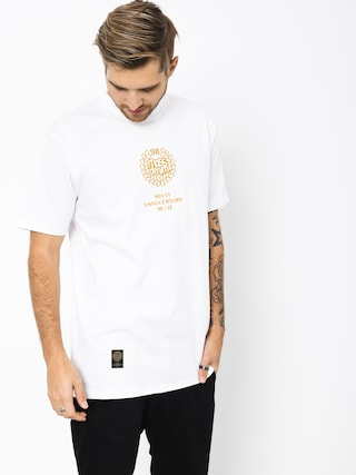 T-shirt MassDnm Golden Crown (white)