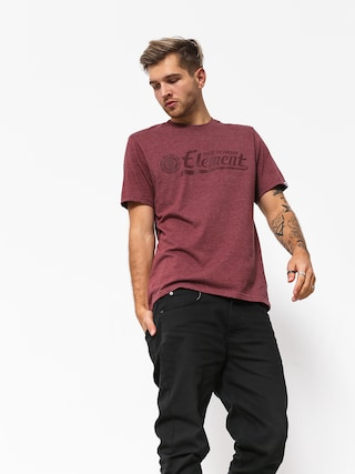 T-shirt Element Signature (oxblood heather)