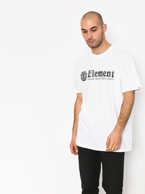 T-shirt Element Bark Horizontal (optic white)