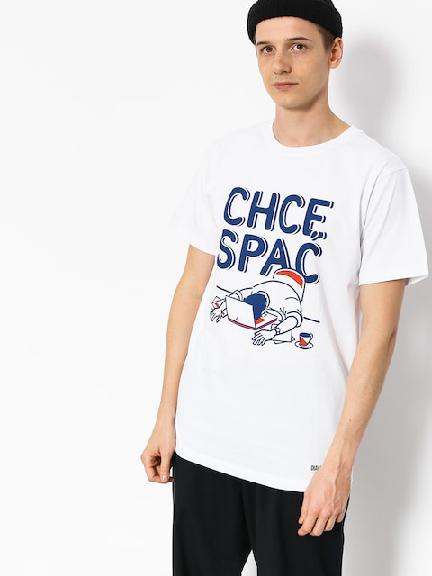 T-shirt Diamante Wear Chcę Spać (white)
