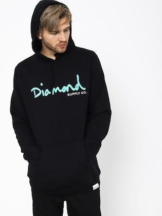 Bluza z kapturem Diamond Supply Co. Og Script HD (black)