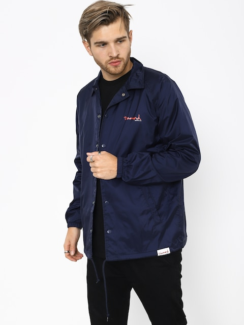 Kurtka Diamond Supply Co. Og Script Coach (navy)