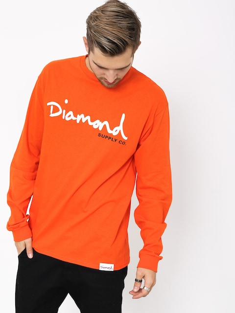 Longsleeve Diamond Supply Co. Og Script