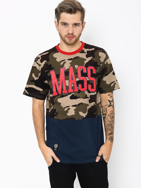 T-shirt MassDnm Truman (woodland camo)