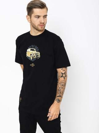 T-shirt MassDnm Golden Car (black)