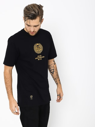 T-shirt MassDnm Golden Crown (black)
