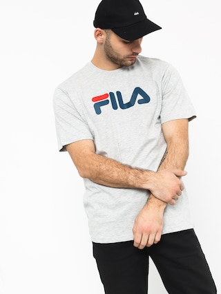 T-shirt Fila Pure Short Sleeve Shirt (light grey mel bros)
