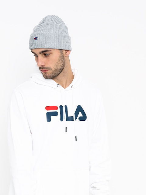 Bluza z kapturem Fila Pure HD (bright white)