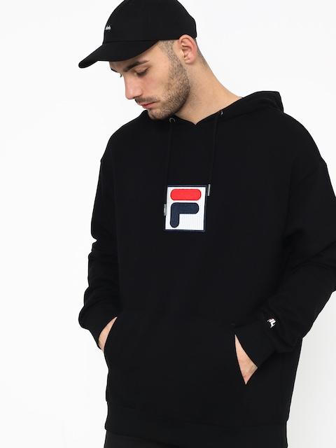 Bluza z kapturem Fila Shawn HD (black)