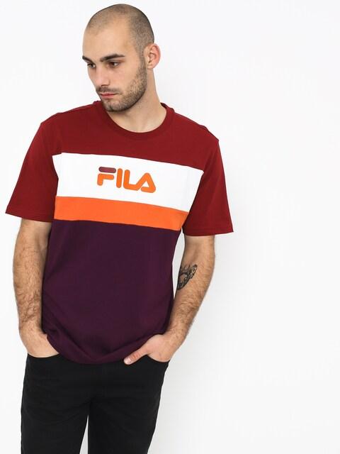 T-shirt Fila Aaron (potent purple/merlot hervest pumpkin)