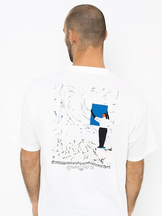 T-shirt Polar Skate Hanging A Painting (white)