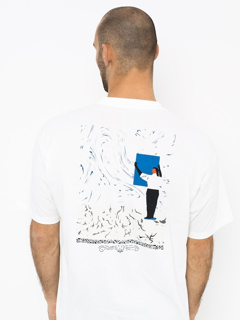 T-shirt Polar Skate Hanging A Painting